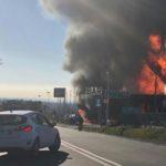 Rieti: esplode un'autocisterna – due morti e 18 feriti – perde la vita un vigile del fuoco